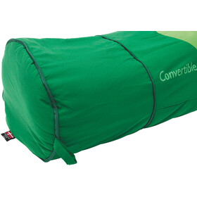 Outwell Convertible Junior Sleeping Bag Barn green